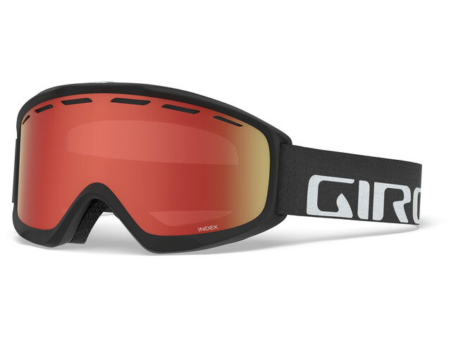 Giro Index Masque, black/amber scarlet
